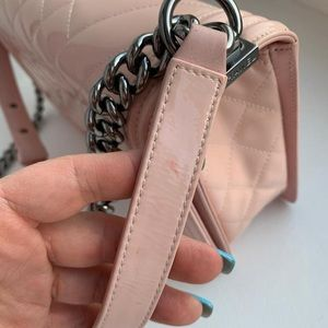 CHANEL Bags - FINAL PRICE❌Chanel Medium Patent Leather Le Boy